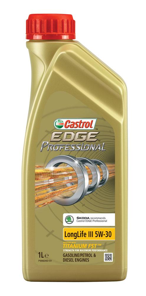castrol Масло CASTROL EDGE Professional LongLife III-T (Skoda) 5W30 (1л)