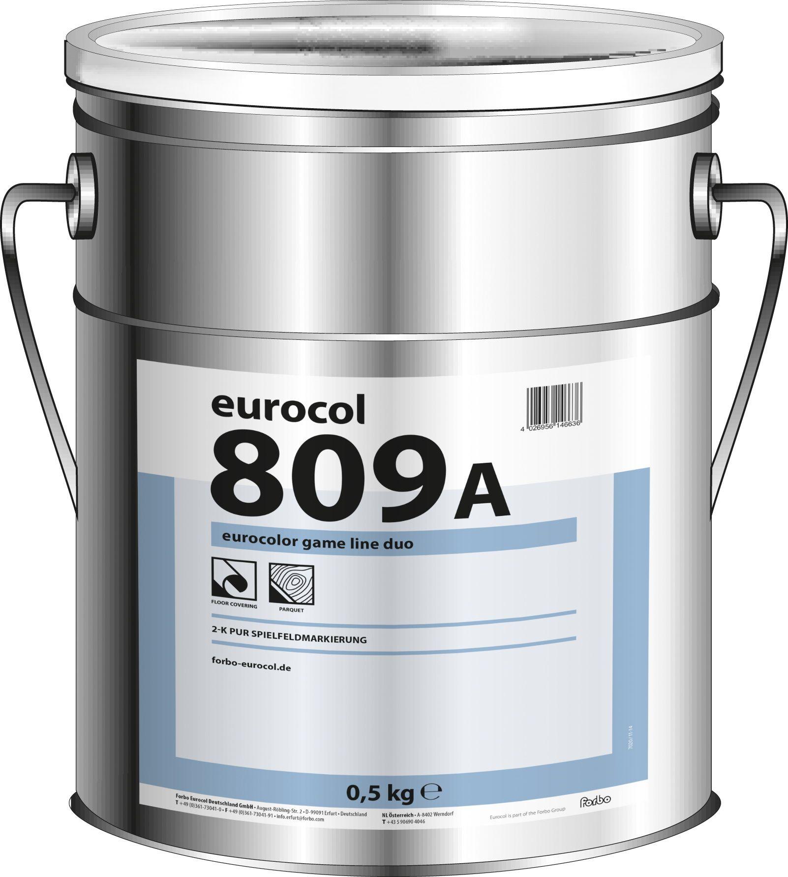 Краска для разметки-белый Eurocol Forbo 809 (0,5кг)Строительная химия<br><br><br>Бренд: Eurocol Forbo<br>Страна-изготовитель: Германия