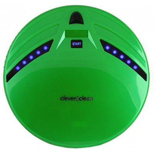 Робот-пылесос Clever&Clean Z10A (зелёный) от Ravta