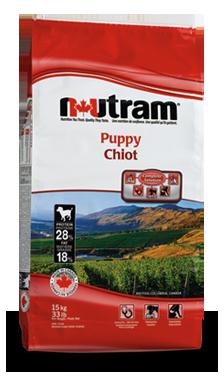 Корм Nutram Puppy WB для щенков 15кг (белый пакет)Повседневные корма<br><br><br>Артикул: 70947<br>Бренд: Nutram<br>Вид: Сухие<br>Страна-изготовитель: Канада<br>Вес упаковки (кг): 15<br>Для кого: Собаки