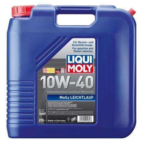 Масло Liqui Moly MoS2 Leichtlauf 10W 40 (20л) от Ravta