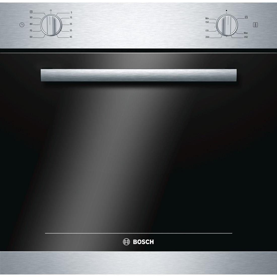 Газовый духовой шкаф Bosch HGN 10 G 050Встраиваемые газовые духовые шкафы<br><br><br>Артикул: HGN10G050<br>Бренд: Bosch<br>Высота упаковки (мм): 700<br>Длина упаковки (мм): 680<br>Ширина упаковки (мм): 640<br>Количество режимов работы: 4<br>Таймер: да<br>Подсветка: да<br>Гриль: да<br>Конвекция: нет<br>Защитное отключение: да<br>Установка: независимая<br>Гарантия производителя: да<br>Часы: электронные<br>Дисплей: нет<br>Вес упаковки (кг): 37,998<br>Цвет: нержавеющая сталь<br>Глубина(см): 55<br>Класс энергопотребления: A<br>Ширина (см): 59,7<br>Высота (см): 59,2<br>Переключатели: поворотные<br>Электроподжиг: да<br>Газ-контроль: да<br>Объем духовки(л): 60<br>Тип духовки: независимая<br>Дверца духовки: откидная<br>Тип гриля: газовый<br>Вертел: есть<br>Очистка духовки: гидролизная<br>Количество стекол дверцы духовки: 3<br>Размеры Ш*В*Г (мм): 597x588x550<br>Размеры ниши для встраивания Ш*В*Г (мм): 564x585x500<br>Ширина встраивания: 60 см