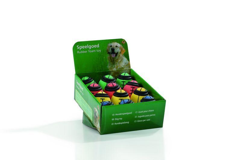 """Игрушки для собак """"Мяч-регби"""", мягкая резина 9*6см (шт) от Ravta"""