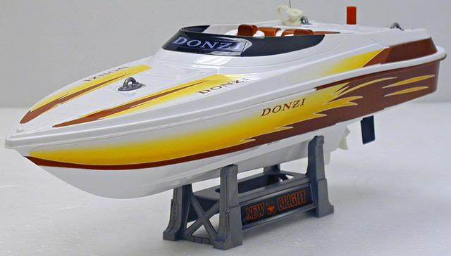 "Р/у 7142 Лодка на батарейках в коробке 18"" ТМ New Bright от Ravta"