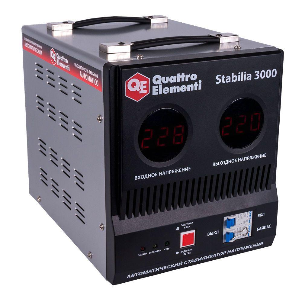 Стабилизатор напряжения QE Stabilia 3000 от Ravta