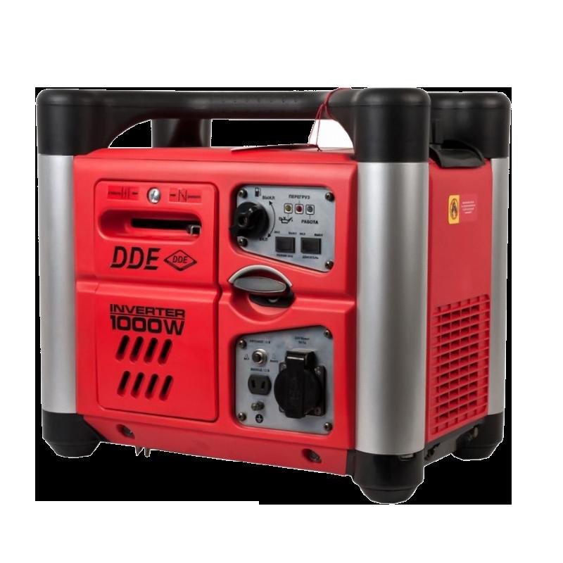 Электростанция бенз. DDE DPG1001Si, 0.9/1кВт т/бак2.8л. 15.5кг инверторно-цифровая DPG1001Si от Ravta