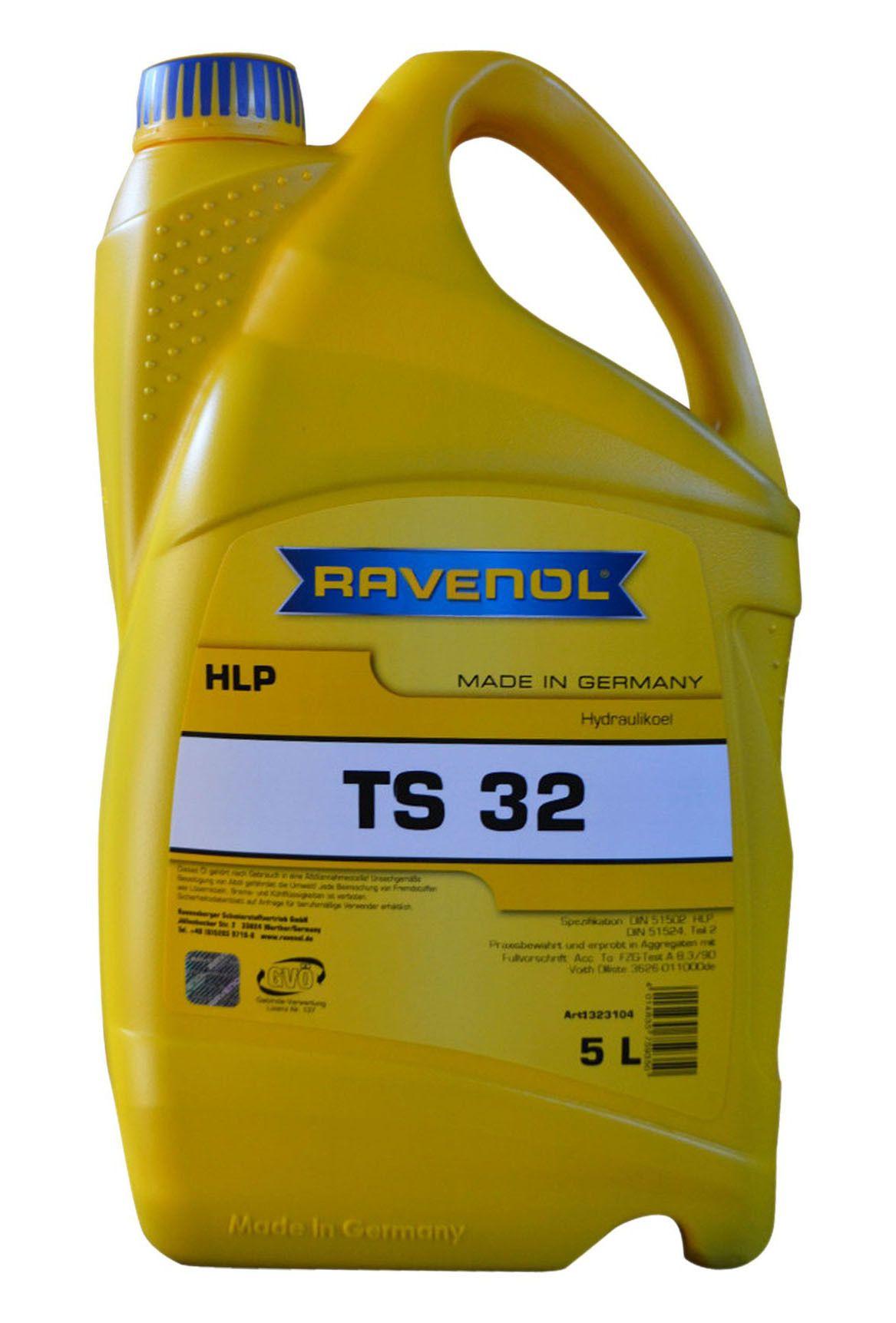 Масло Ravenol ТS32 (4014835759350) (5л) от Ravta