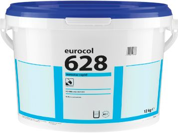Уникальный моментальный дисперсионный клей Eurocol Forbo 628 Eurostar Rapid (12кг) от Ravta