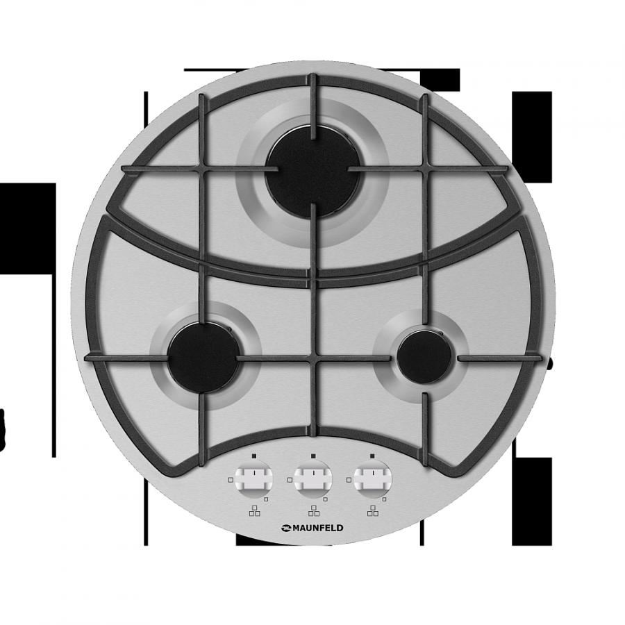 Газовая варочная панель Maunfeld MGHS 53 71S (нержавеющая сталь)Встраиваемые газовые варочные панели<br><br><br>Артикул: УТ000001647<br>Бренд: Maunfeld<br>Гарантия производителя: да<br>Вес упаковки (кг): 7