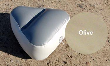 badger Надувное сиденье в нос лодки (72х46х27 см), Olive Seat_nos_ol_4