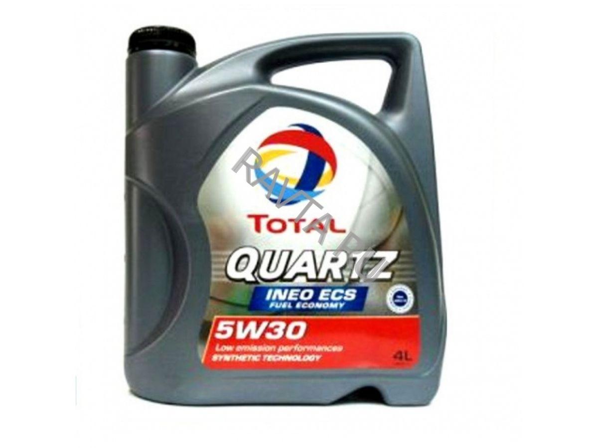 Масло Total Quartz Ineo ECS 5W-30 (4л) от Ravta