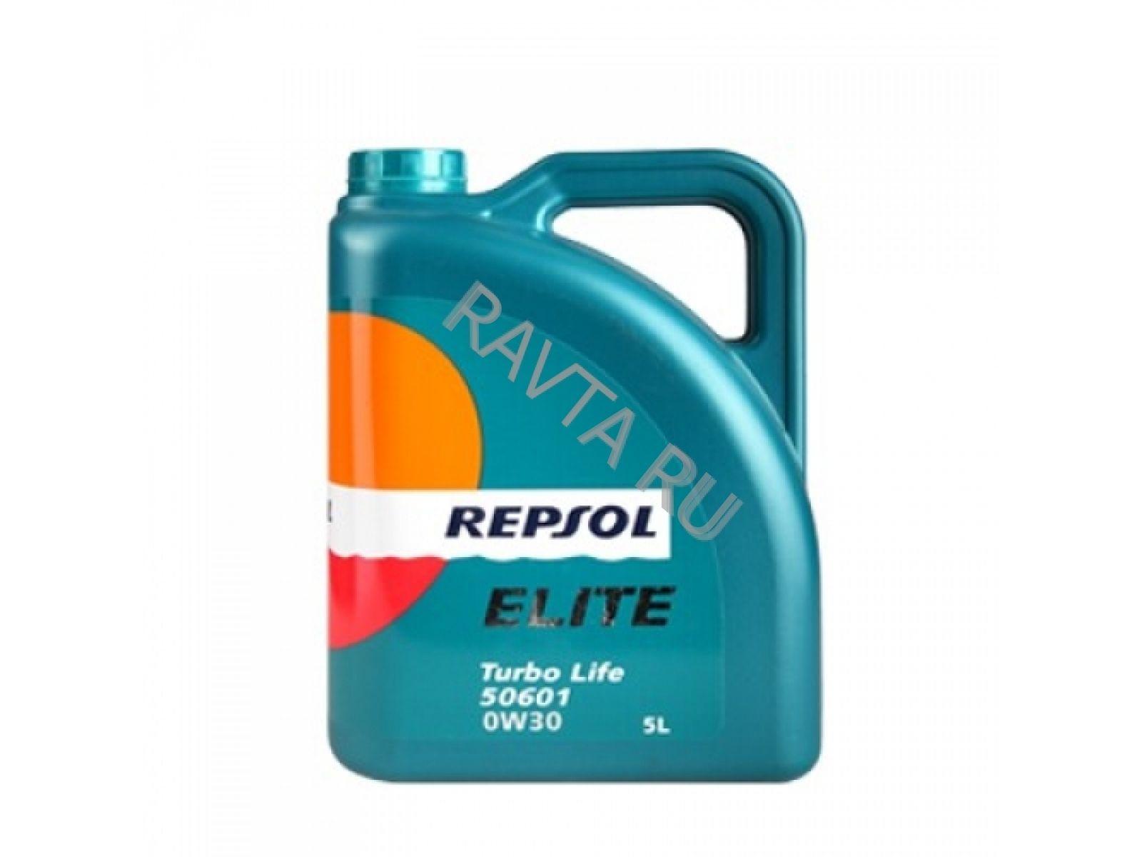 Масло Repsol Elite Turbo Life 50601 0W-30 (5л) от Ravta