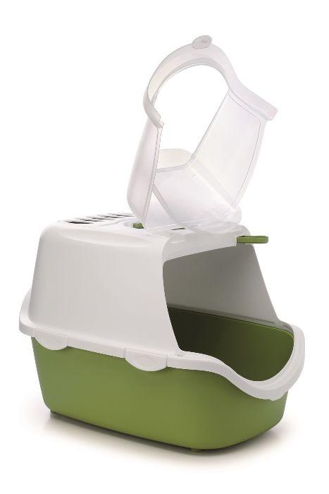 stefanplast Туалет-Домик Stefanplast Cathy Easy Clean с угольным фильтром, зеленый, 56*40*40см 23181.зел