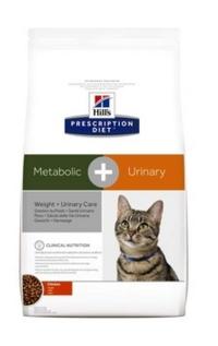 Hill's Hill's Prescription Diet Для взрослых кошек для коррекции веса и лечения мочекаменной болезни (10040U) 1,5кг
