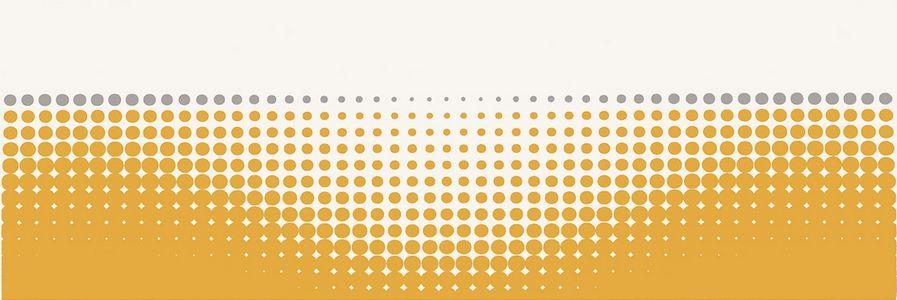Керамическая плитка декор Paradyz Midian giallo inserto Punto 600x200 (шт) оранжевый от Ravta