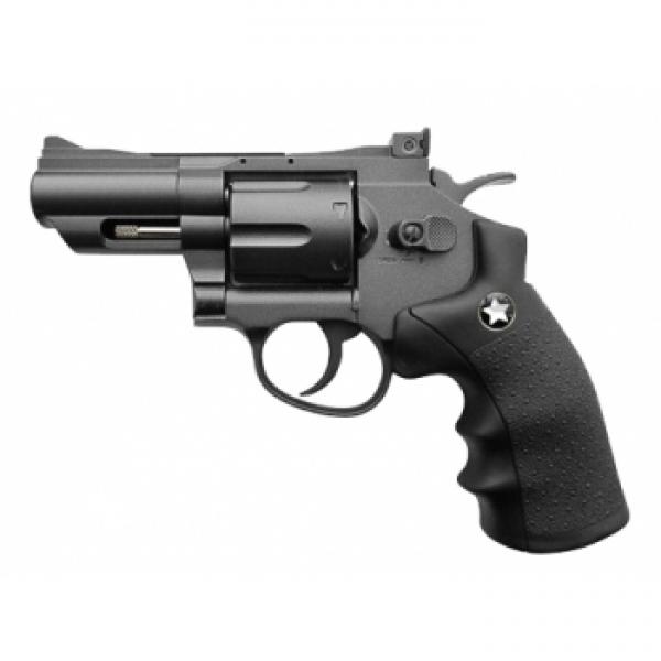 Револьвер пневм. BORNER Super Sport 708, кал. 4,5 мм (с картридж. 6 шт.) от Ravta