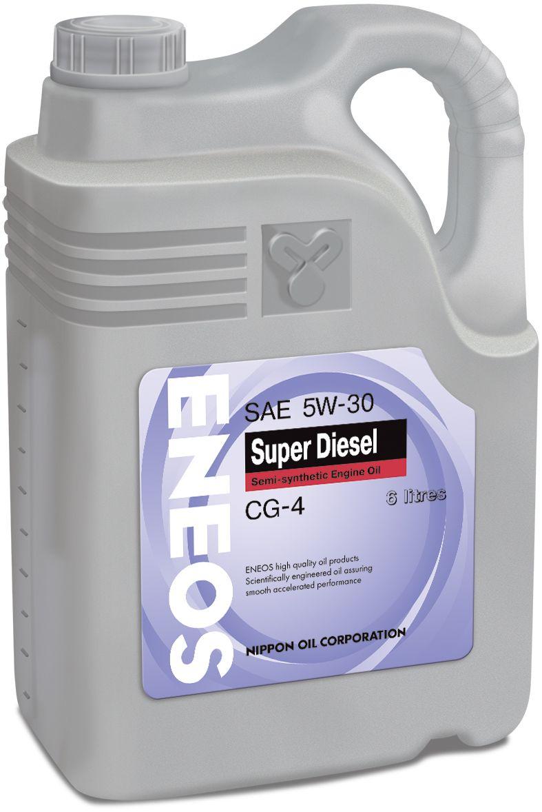 eneos Масло ENEOS CG-4 полусинтетика 10/40 (6л) oil1329