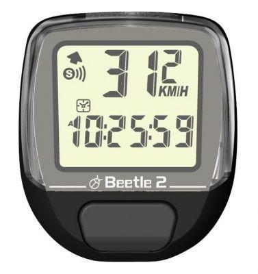 Вело Компьютер BEETLE-2, чёрн., 8 функций от Ravta