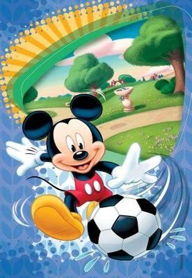 Ковер детский Dinarsu Disney Мики Маус (арт.D3MC001) голубой 1330*1950мм от Ravta