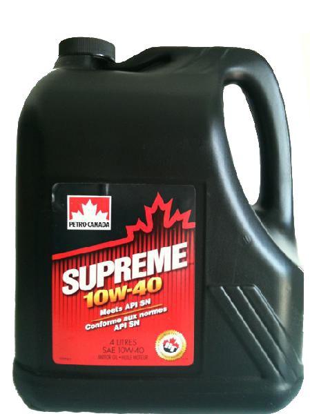Масло Petro-Canada Supreme 10W-40 (4л) от Ravta