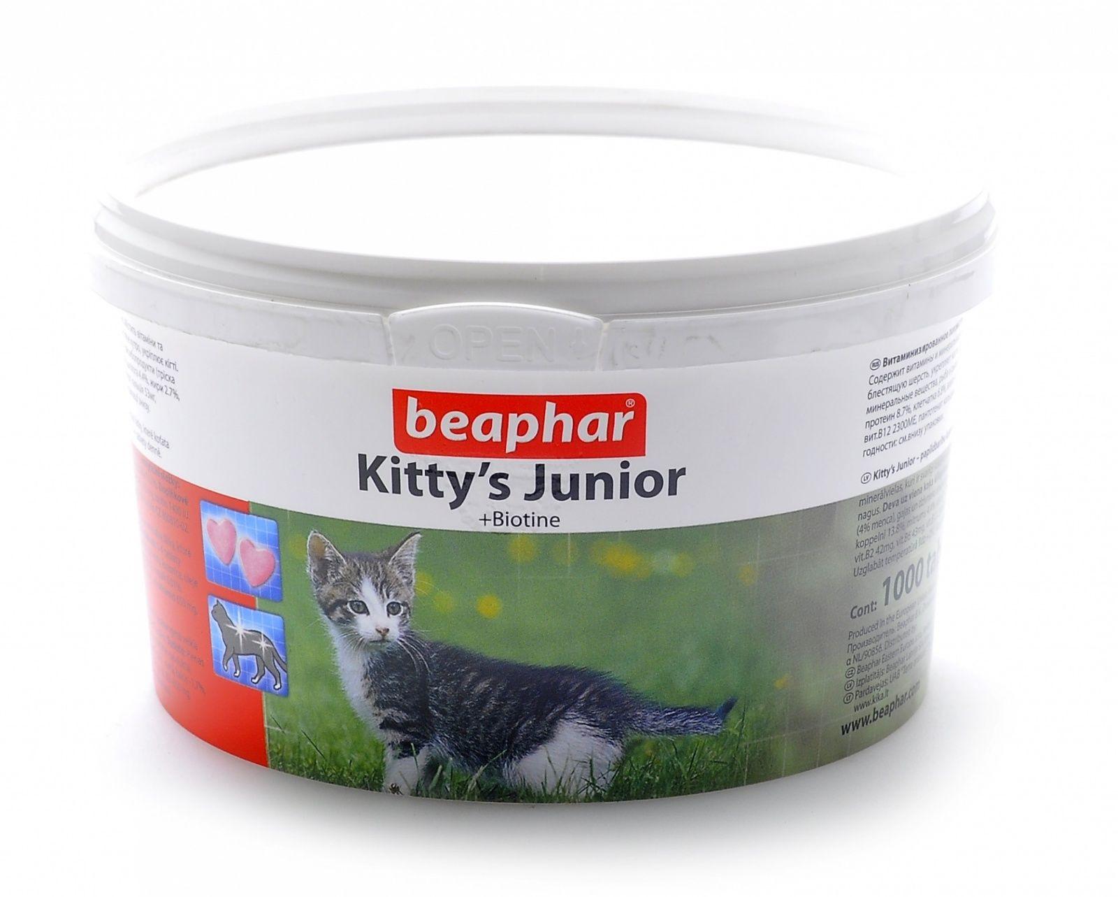 Beaphar Витамины для котят Kitty's Junior, 1000шт. от Ravta