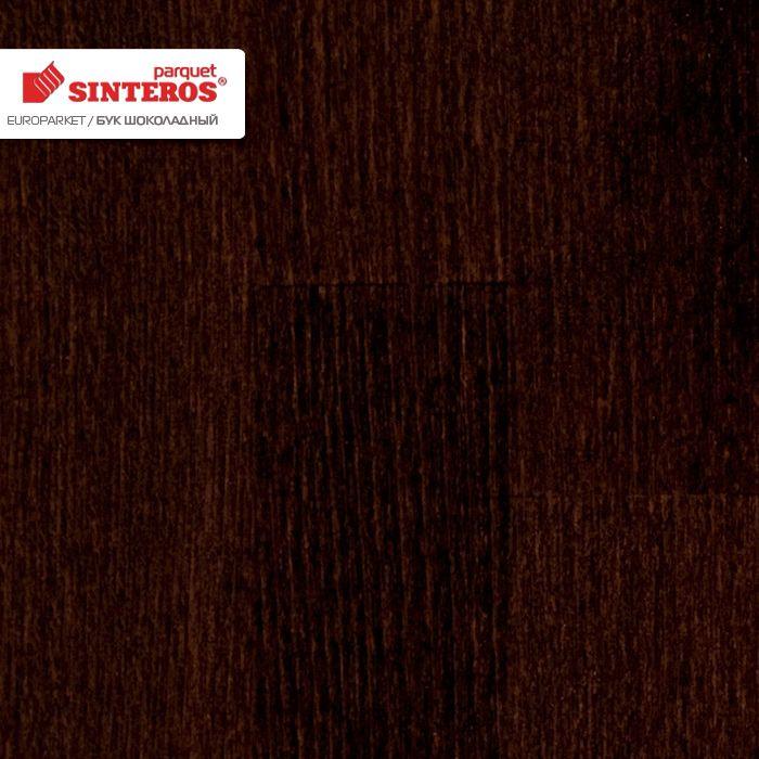 Паркетная доска Sinteros Evroparket Бук Шоколадный (м2)Паркетная доска<br><br><br>Бренд: Sinteros<br>Страна-изготовитель: Россия<br>Количество м2 в упаковке: 2,62<br>Количество штук в упаковке: 6<br>Вес упаковки (кг): 22,00<br>Толщина (мм): 13,2<br>Длина доски (мм): 2272<br>Ширина доски (мм): 192<br>Порода древесины: Бук<br>Толщина ценной породы древесины (мм): 2,8<br>Коллекция паркета: Evroparket<br>Соединение паркета: замок T-Lock<br>Покрытие паркета: лак<br>Количество слоев покрытия: 7<br>Родина бренда: Россия
