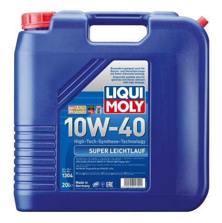 Масло Liqui Moly Super Leichtlauf 10W 40 (20л) от Ravta