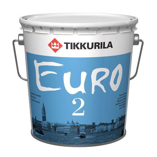 Латексная краска Тиккурила Евро-2 (18л) от Ravta