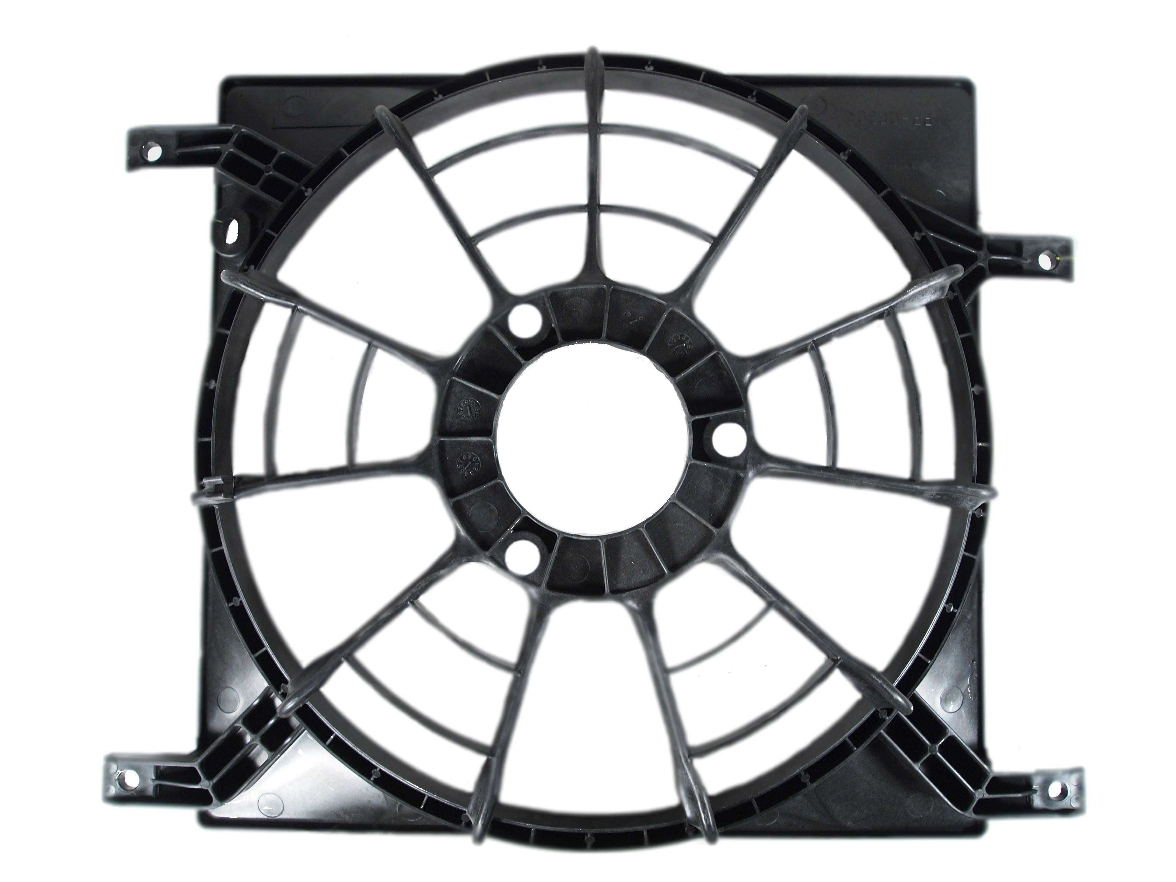 Кожух вентилятора охлаждения (диффузор) Suzuki Swift III [1776080ja0] от Ravta