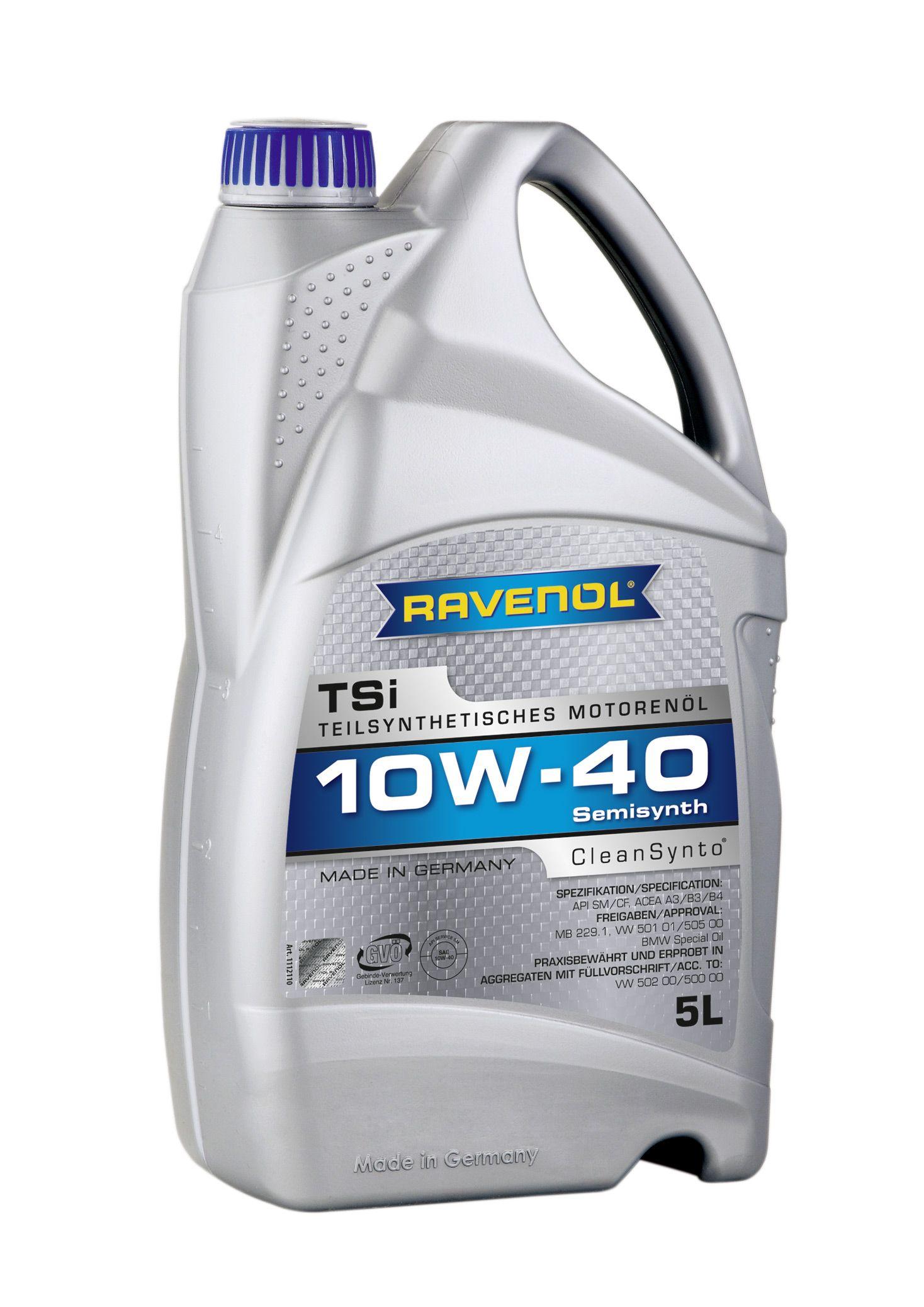 Масло Ravenol TSI 10W 40 (5л) от Ravta