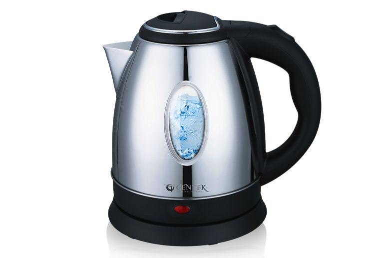 Чайник Centek CT-1042 C, 2л., (хром)Чайники<br><br><br>Бренд: Centek<br>Материал: металл<br>Потребляемая мощность (Вт): 2000<br>Отсек для сетевого шнура: есть<br>Подсветка: да<br>Блокировка включения без воды: есть<br>Нагревательный элемент: скрытый<br>Гарантия производителя: да<br>Общий объем (л): 2<br>Цвет: нержавеющая сталь<br>Указатель уровня воды: да<br>Индикация включения : есть<br>Автоотключение при закипании: есть