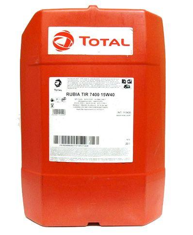 Масло Total Rubia Tir 7400 15W-40 (20л) от Ravta