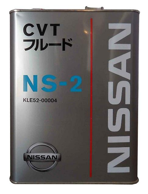 Масло NISSAN CVT NS-2 (4л) от Ravta