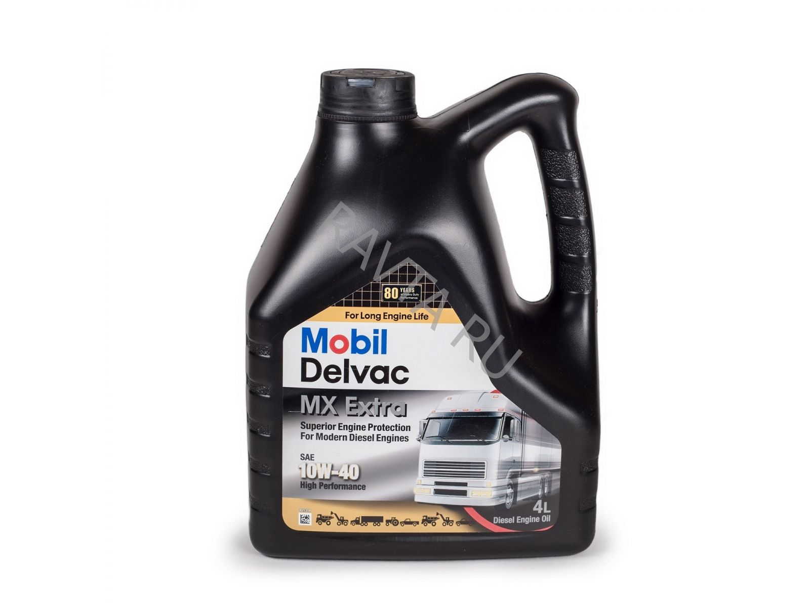 Масло Mobil Delvac MX Еxtra 10W 40 (4л) от Ravta