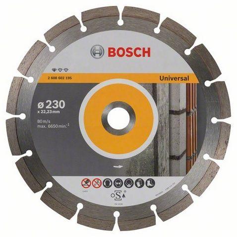 Диск алмазный сегментный BOSCH UPE 230 х 22 мм (1 шт.) от Ravta