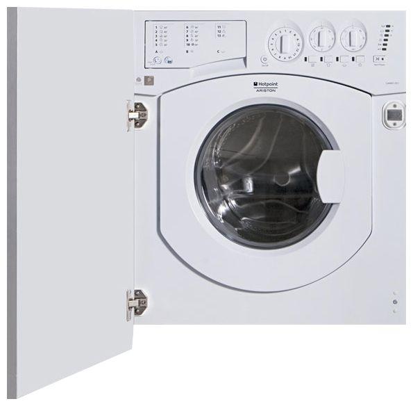 Встраиваемая стиральная машина Hotpoint-Ariston AWM 108 (EU).NВстраиваемые стиральные машины<br><br><br>Артикул: AWM 108<br>Размеры (ШxГxВ): 600x540x820<br>Бренд: Hotpoint-Ariston<br>Высота упаковки (мм): 890<br>Длина упаковки (мм): 650<br>Ширина упаковки (мм): 580<br>Вес (кг): 65<br>Гарантия производителя: да<br>Тип загрузки: фронтальная<br>Максимальная загрузка белья(кг): 7<br>Защита от протечек: частичная<br>Вес упаковки (кг): 67,5<br>Цвет: белый<br>Защита от детей: нет<br>Тип установки: встраиваемая<br>Тип управления: электронное<br>Материал бака стиральной машины: пластик<br>Интеллектуальное управление стиркой: да<br>Программа стирки деликатных тканей: да<br>Глубина(см): 54<br>Класс отжима: C<br>Количество программ: 16<br>Класс энергопотребления: A<br>Класс стирки: А