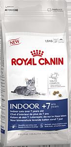 Корм Royal Canin Indoor +7 для кошек старше 7 лет живущих в помещении 3,5кгПовседневные корма<br><br><br>Артикул: 25725<br>Бренд: Royal Canin<br>Вид: Сухие<br>Высота упаковки (мм): 0,48<br>Длина упаковки (мм): 0,25<br>Ширина упаковки (мм): 0,11<br>Вес брутто (кг): 3,5<br>Страна-изготовитель: Россия<br>Вес упаковки (кг): 3,5<br>Размер/порода: Все<br>Для кого: Кошки<br>Особая серия: Для живущих в помещении