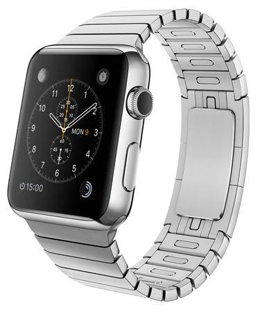 Умные часы Apple Watch 42mm Stainless Steel Case with Link Bracelet (MJ472) от Ravta