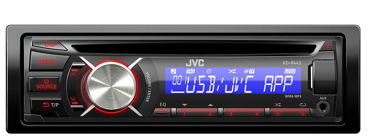 Цифровой ресивер jvc kd x200ee 6