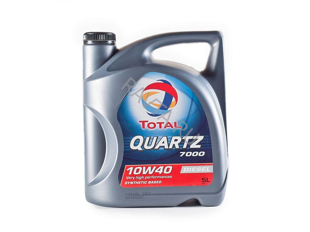 Масло Total Quartz 7000 10W-40 (5л) от Ravta