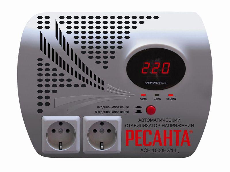 Стабилизатор напряжения РЕСАНТА АСН-1 000 Н2/1-Ц от Ravta
