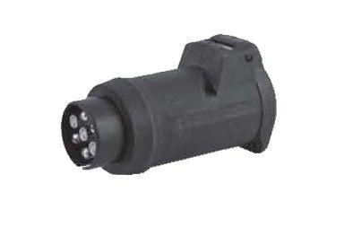 Адаптер VFM-Bosal с 7-ми контактной розетки на 13-ти контактную вилку DIN для прицепа (023-394) от Ravta