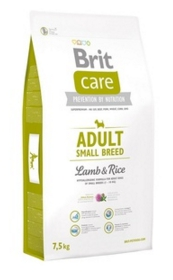 Brit Care NEW для собак малых пород до 10кг с ягненком и рисом (Adult Small Breed Lamb&amp;Rice) 3кгПовседневные корма<br><br><br>Артикул: 19719<br>Бренд: Brit<br>Вид: Сухие<br>Вес брутто (кг): 3<br>Для кого: Собаки