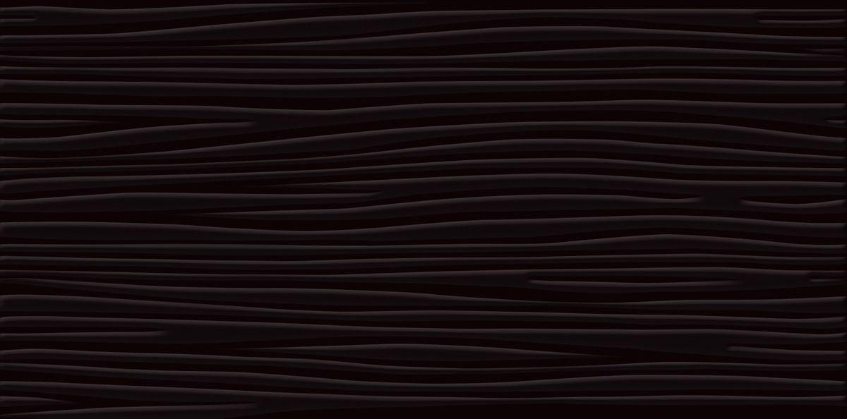 Керамическая плитка настенная Paradyz Vivida nero struktura 600x300 (шт) черный от Ravta