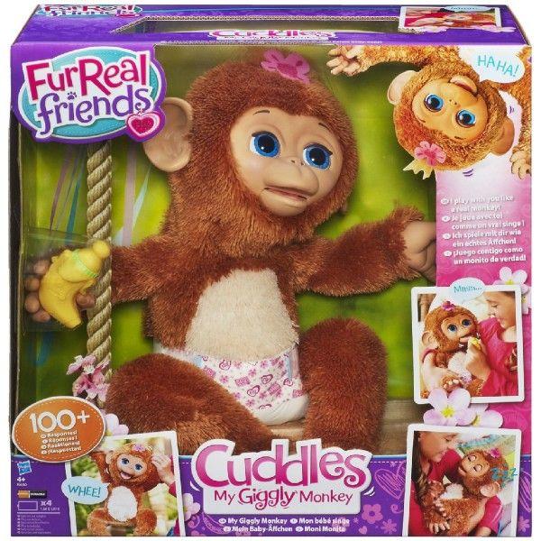 Интерактивная Смешливая Обезьянка Furreal Friends, Hasbro A1650Интерактивные игрушки<br><br><br>Артикул: A1650<br>Бренд: Furreal Friends<br>Категории: Furreal Friends