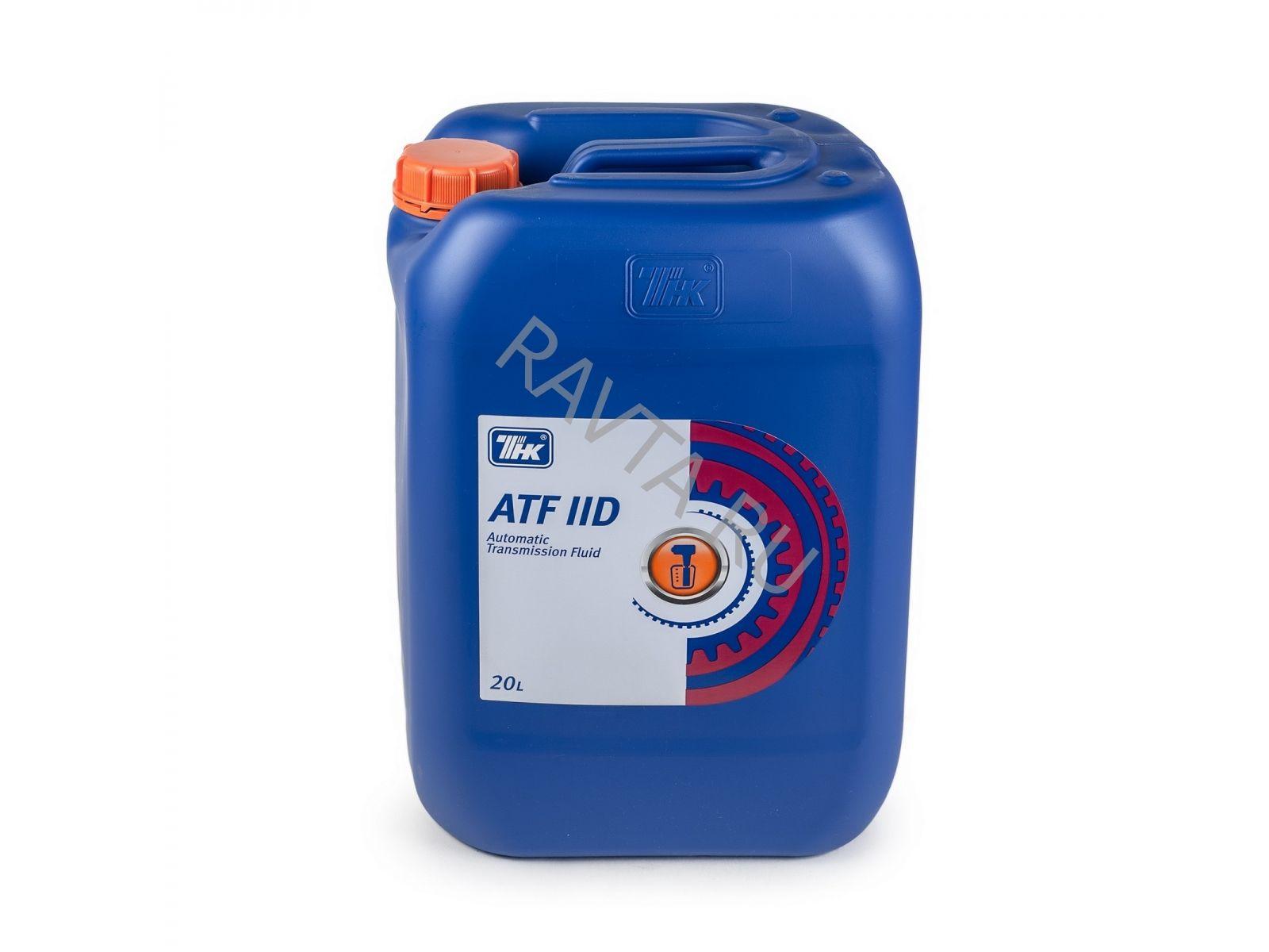 Масло ТНК ATF IID (20л) от Ravta