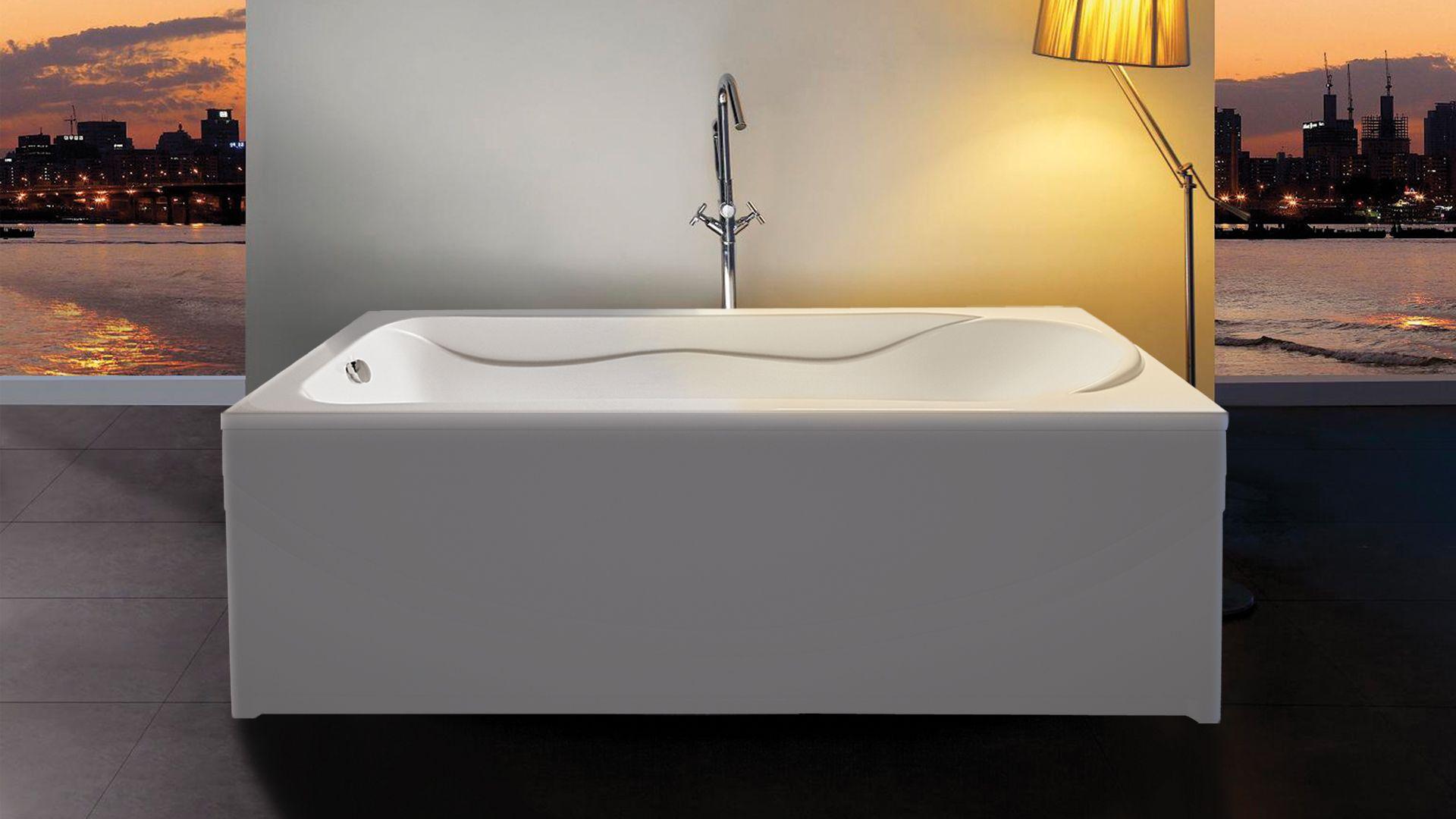 Ванна акриловая Eurolux Помпеи 150х70х50, объем 210 л от Ravta