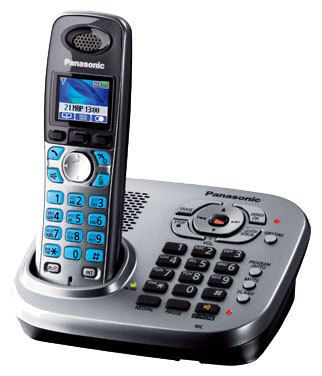 Телефон PANASONIC KX-TG8041RUM Телефон беспроводной от Ravta