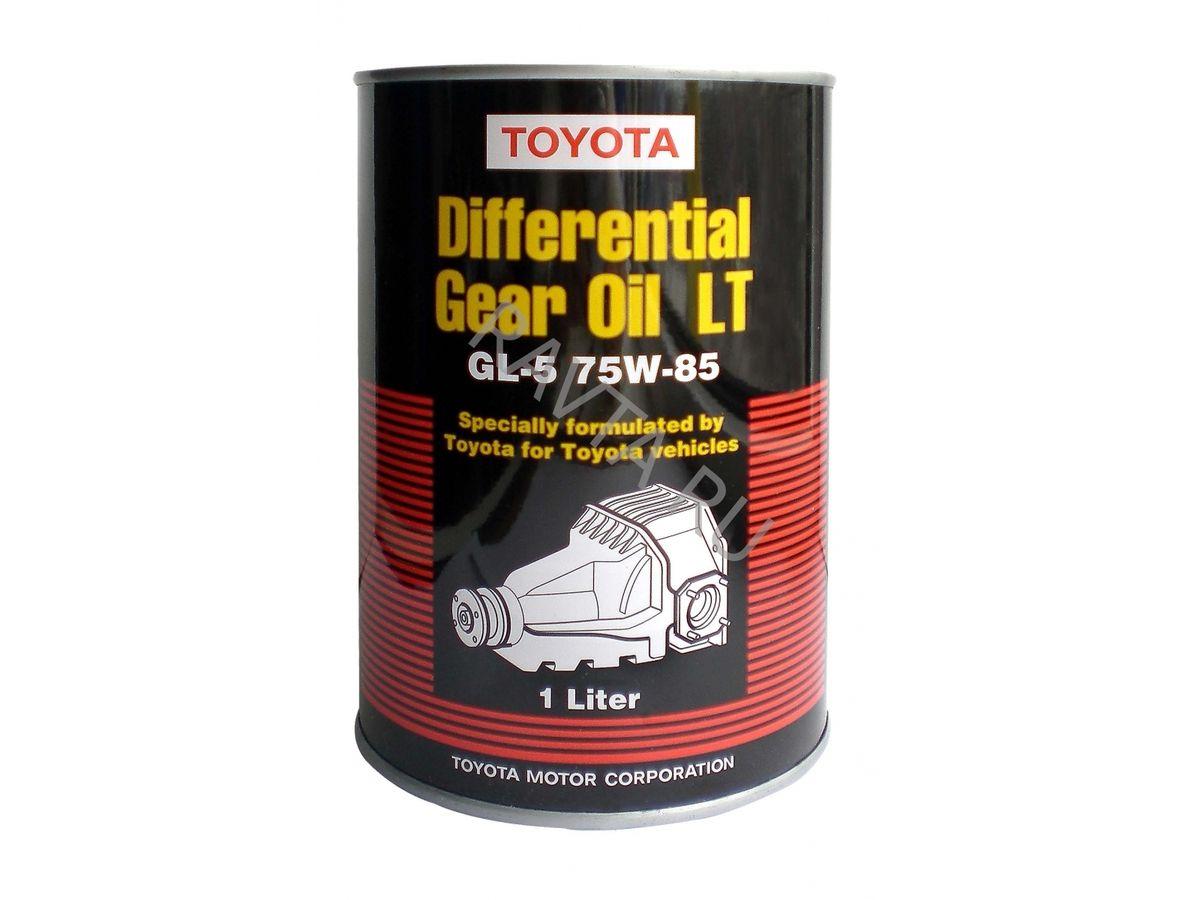 Масло TOYOTA Genuine Differential Gear Oil LT 75W 85 API GL–5 (1л) от Ravta