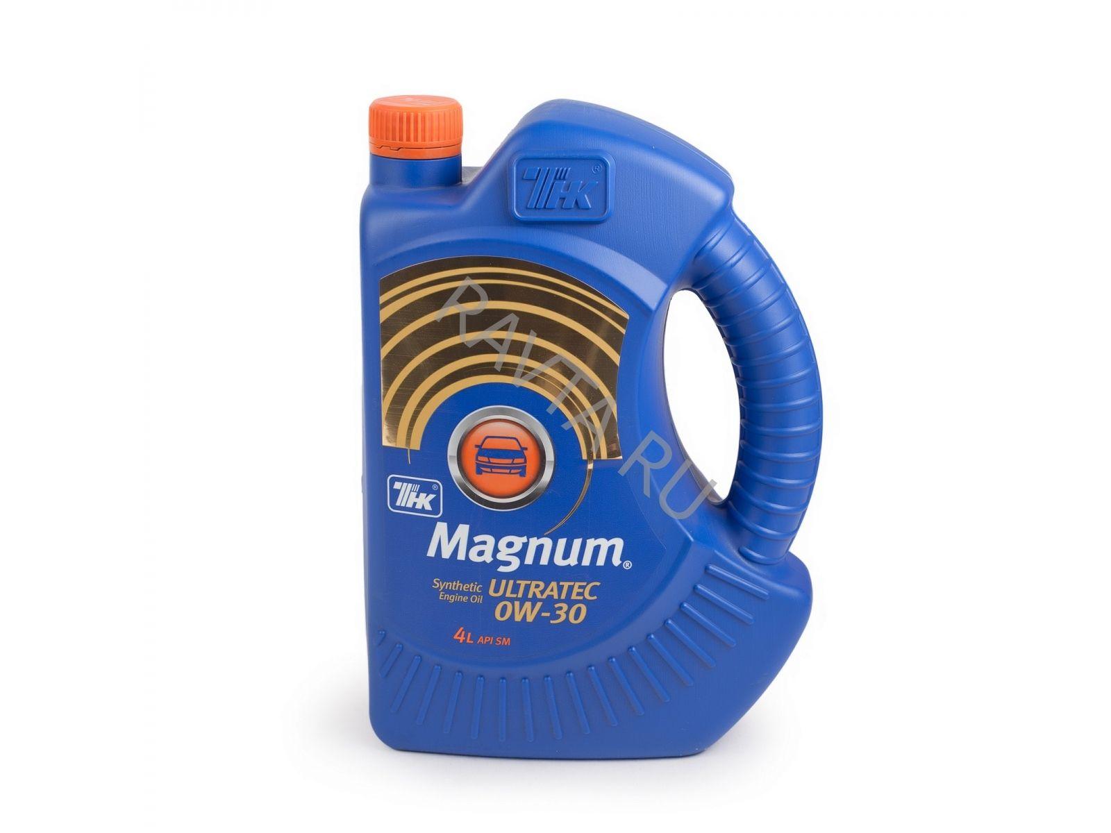 Масло ТНК Magnum Ultratec 0W 30 (4л) от Ravta